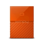 Disco duro portátil de 1TB My Passport Western™ Orange