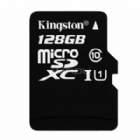Tarjeta MicroSD Kingston  128GB (clase 10 UHS-I 45MB/s)