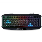 Teclado Gamer Genius Scorpion K215 (LED, USB, Black)