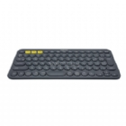 Teclado Logitech Multi-Device K380 (Bluetooth - Gris)