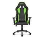 Silla Gamer AKRacing Nitro Series (Negra/Verde)