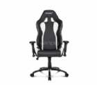 Silla Gamer AKRacing Nitro Series (Negra/Blanca)