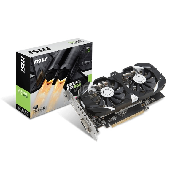 Tarjeta de Video MSI Nvidia GeForce GTX 1050 2GT OC