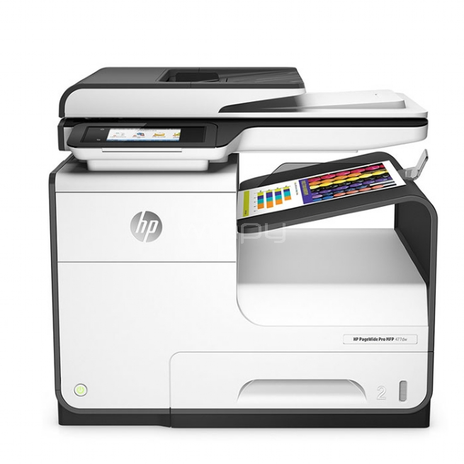 Multifunciónal HP PageWide Pro 477dw MFP (Tinta, Color, Duplex, 40ppm, 1200x1200dpi, Wifi-USB)