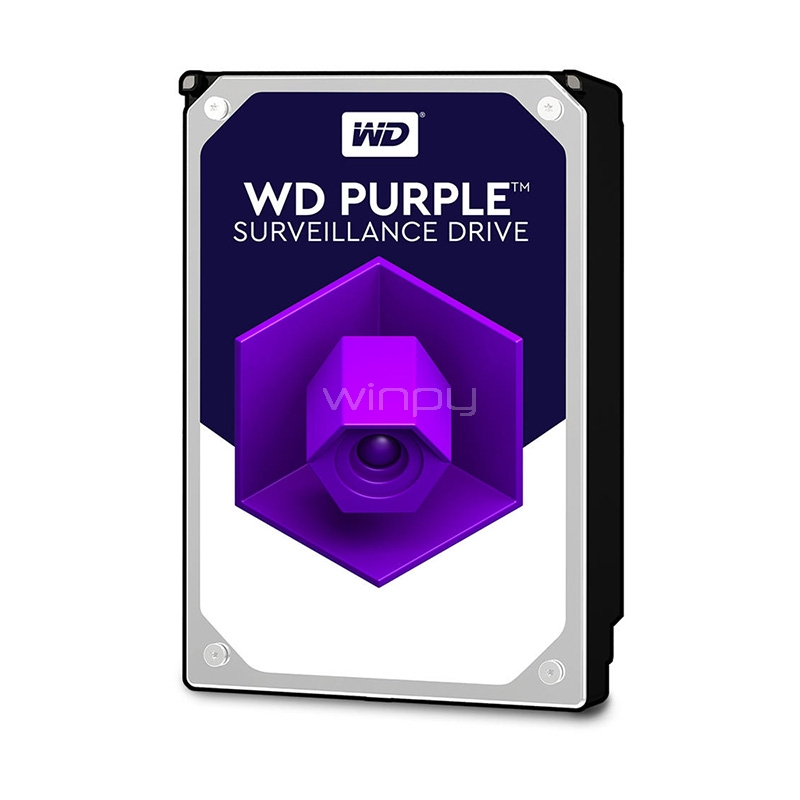 Disco duro Western Digital Purple 1TB (Sata, 5400 RPM, 3.5)