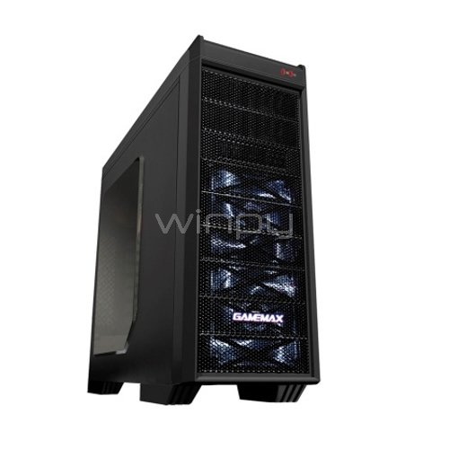 Gabinete Gamemax G-501X (USB 3.0x1, USB 2.0x1, LED, ATX)