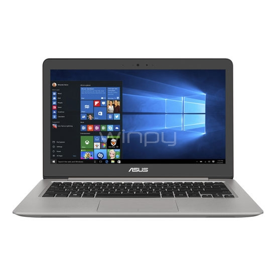 ultrabook asus zenbook ux310uq-gl401t (i5-7200u, geforce 940mx, 8gb ddr4, 1t hdd, pantalla 13,3)