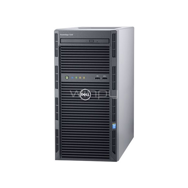 servidor poweredge t130 dell (xeon, e3-1220v6, 8gb, 2tb 7,2k)