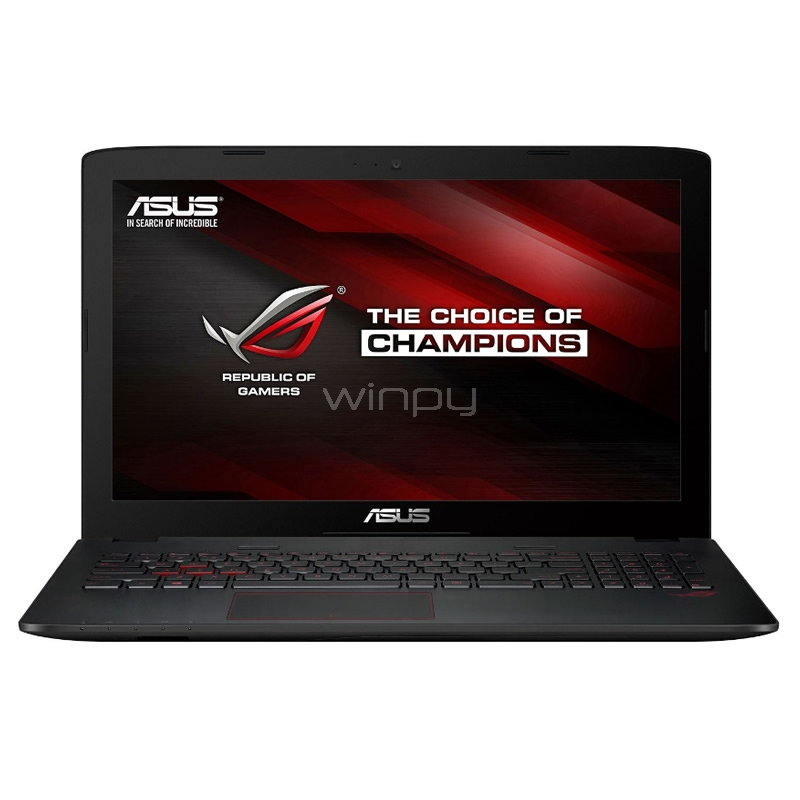 Notebook Gamer Asus GL552VW-DM337T (I5-6300HQ, GTX960 2GB, 8GB DDR4, 1TB HDD, Pantalla 15,6)