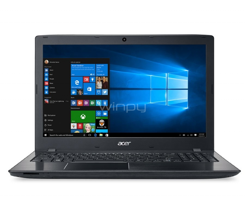 Notebook Acer Aspire E5 - E5-475G-36PG (i3-6006U, GeForce 940MX 2GB, 4GB DDR4, 500GB HDD, Win10, Pantalla 14)