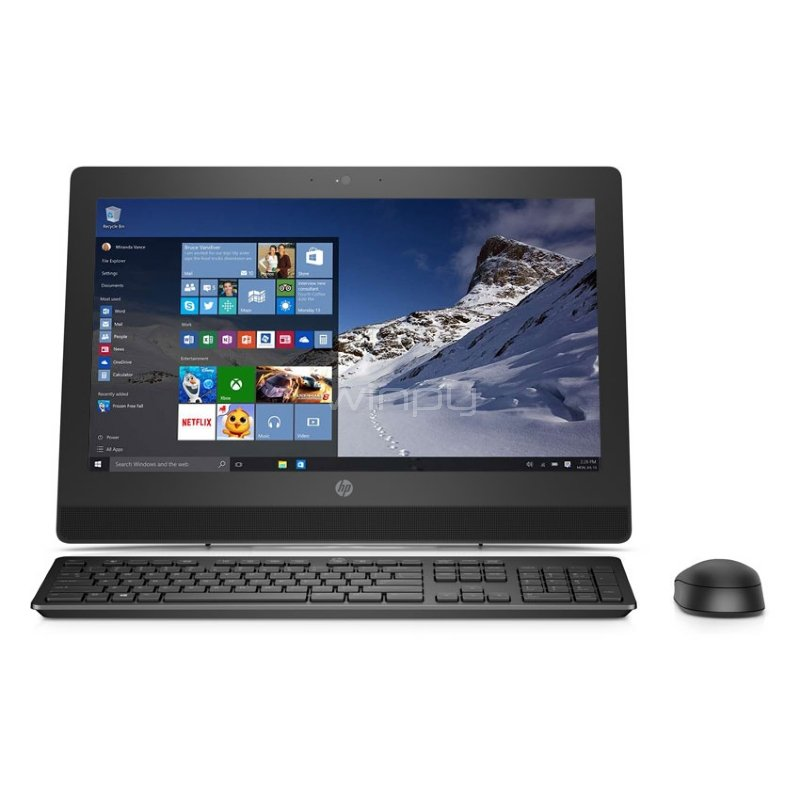 Computador HP  All in One - ProOne 400 G3 (i5-6500T, 4GB DDR4, 1TB HDD,  Windows 10 Pro)