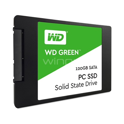 Disco estado sólido Western Digital Green de 120GB (SSD, SATA)