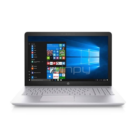 Notebook HP Pavilion 15-CC506LA (i7-7500U, GeForce 940MX 4GB, 16GB DDR4, 128SSD+1TB, Win10, Pantalla 15,6)