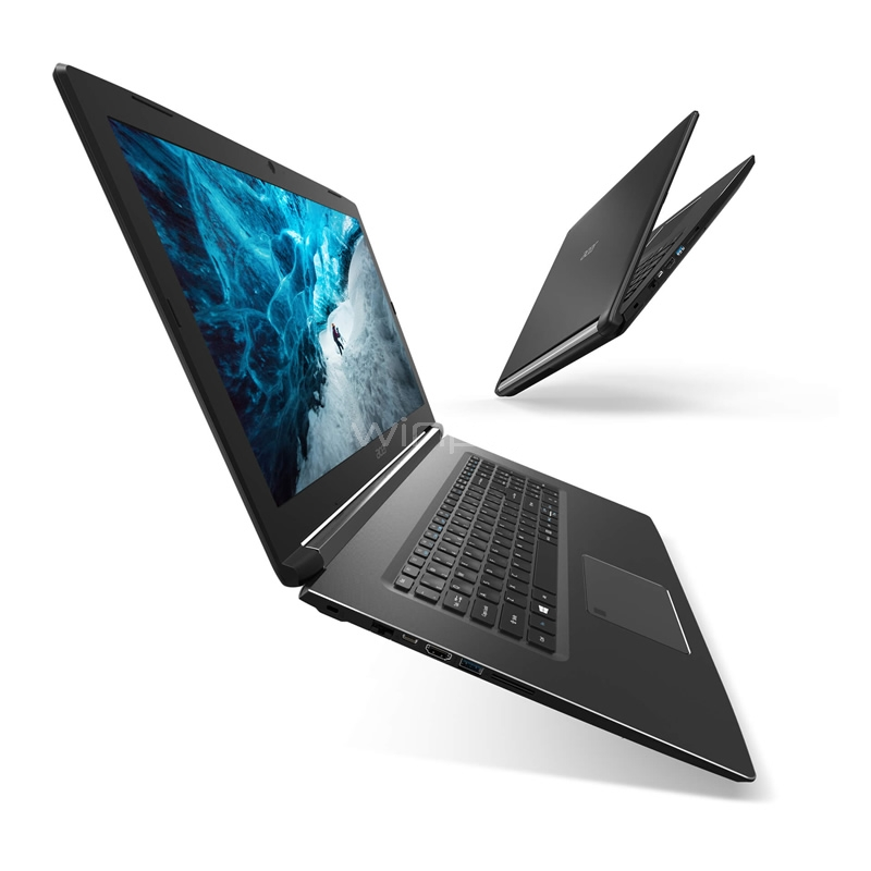 notebook acer aspire 7 - a715-71g-750l (i7-7700hq, gtx 1050, 8gb ddr4, 1tb hdd, pantalla fhd 15,6, win10)