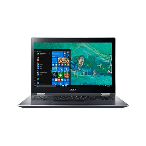 Notebook Acer Spin 3 - SP314-51-36ED (i3-6006u, 4GB RAM, 1TB HDD, Pantalla Touch 14, Win10, Steel Gray)