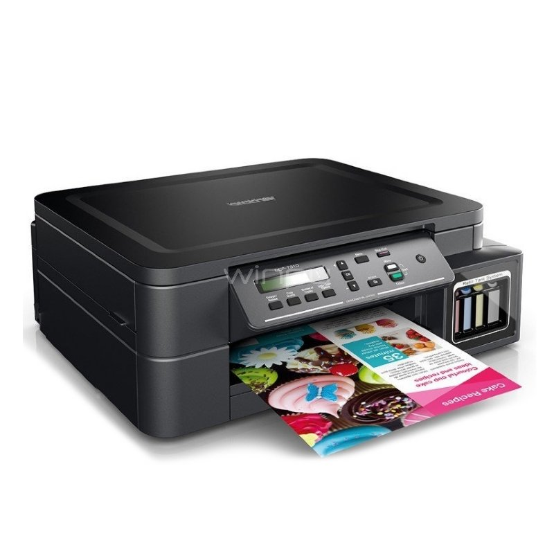 Impresora multifuncional Brother DCP-T510W (Inyección tinta color, WiFi)
