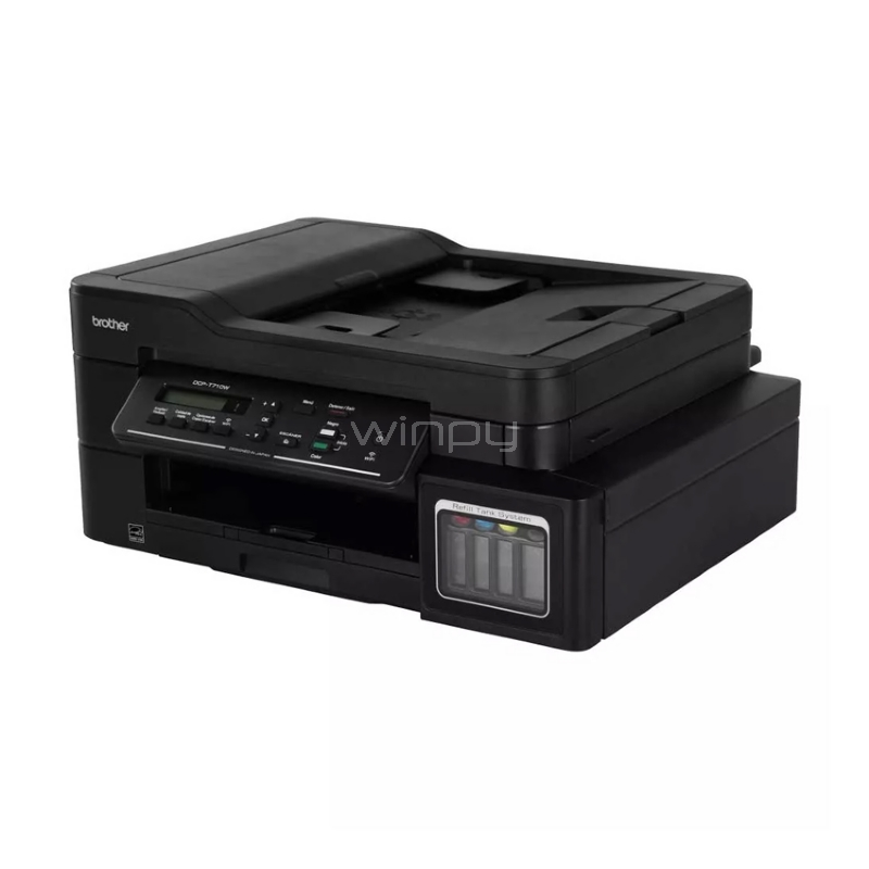Impresora multifuncional Brother DCP-T710W (Inyección de tinta a color, WiFi, ADF)