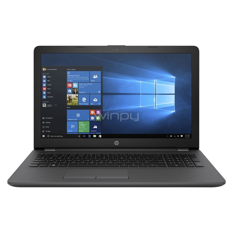 Notebook HP 250 G6 (N4200, 8GB RAM, 1TB HDD, Pantalla 15,6, Win10, sin DVD)