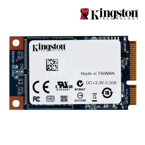 Unidad estado solido Kingston UV500 de 240GB (mSATA, 3D TLC, 520MB/s Write, 500MB/s Read)