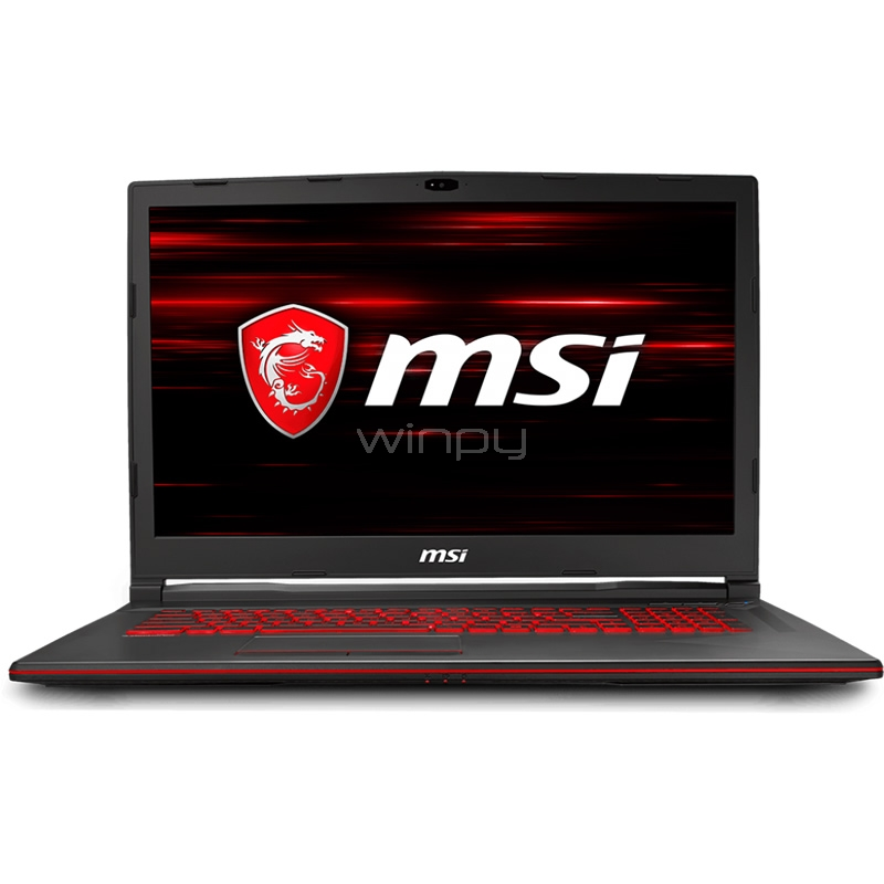 Notebook Gamer MSI GL73 8RC (i7-8750H, GTX 1050, 8GB DDR4, 1TB, Win10, Pantalla 17,3)