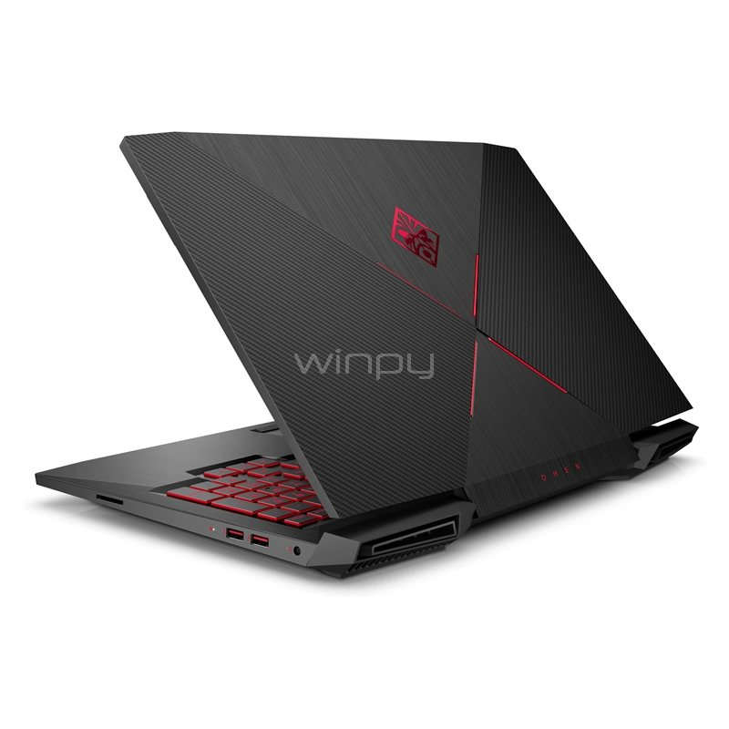 notebook gamer hp omen 15-ce004la (i7-7700hq, gtx 1060 6gb, 8gb ddr4, 1tb hdd, win10, pantalla 15.6)