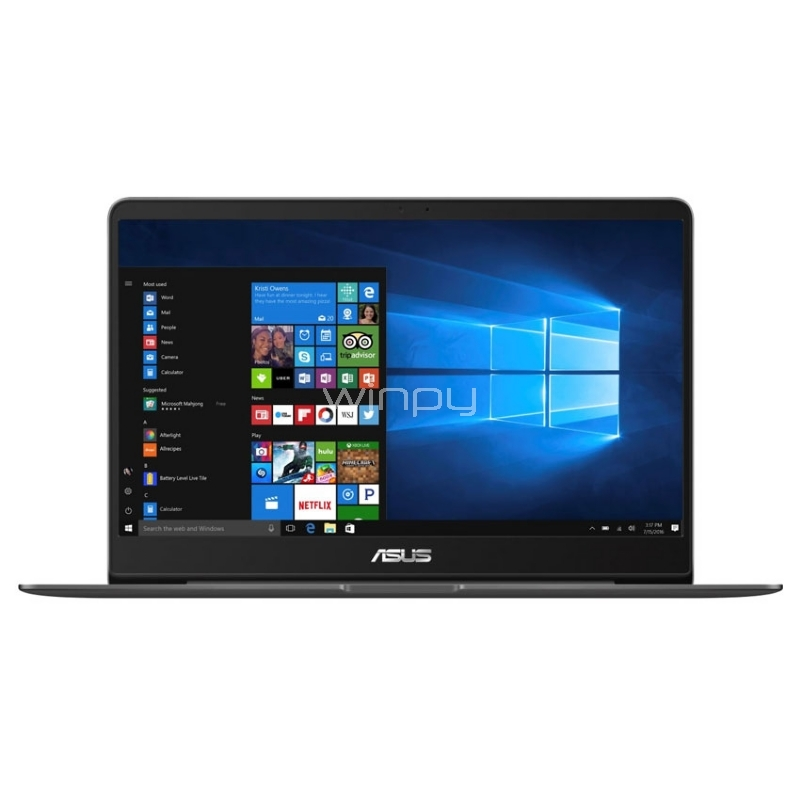 UltraBook Asus ZenBook UX430UN-GV033T (i5-8250U, GeForce MX150, 8GB DDR4, 256GB M2, Pantalla Full HD 14, Win10)