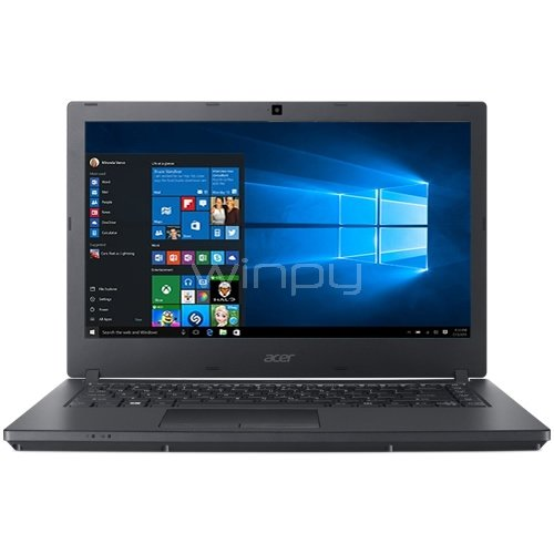 Notebook Acer TravelMate P2 - TMP2510-G2-M-51VA (i5-8250U, 4GB DDR4, 1TB HDD, Pantalla 15.6, Win10)