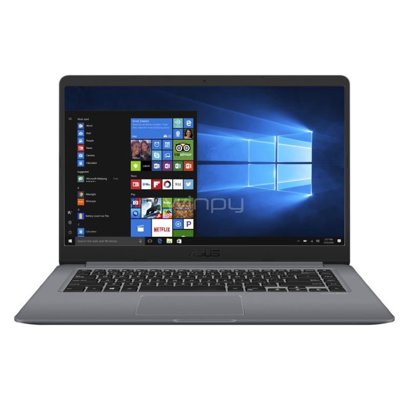 Ultrabook Asus VivoBook S15 - X510UF-EJ045T (i7-8550U, GeForce MX130, 8GB DDR4, 1TB HDD, Pantalla 15,6, Win10)