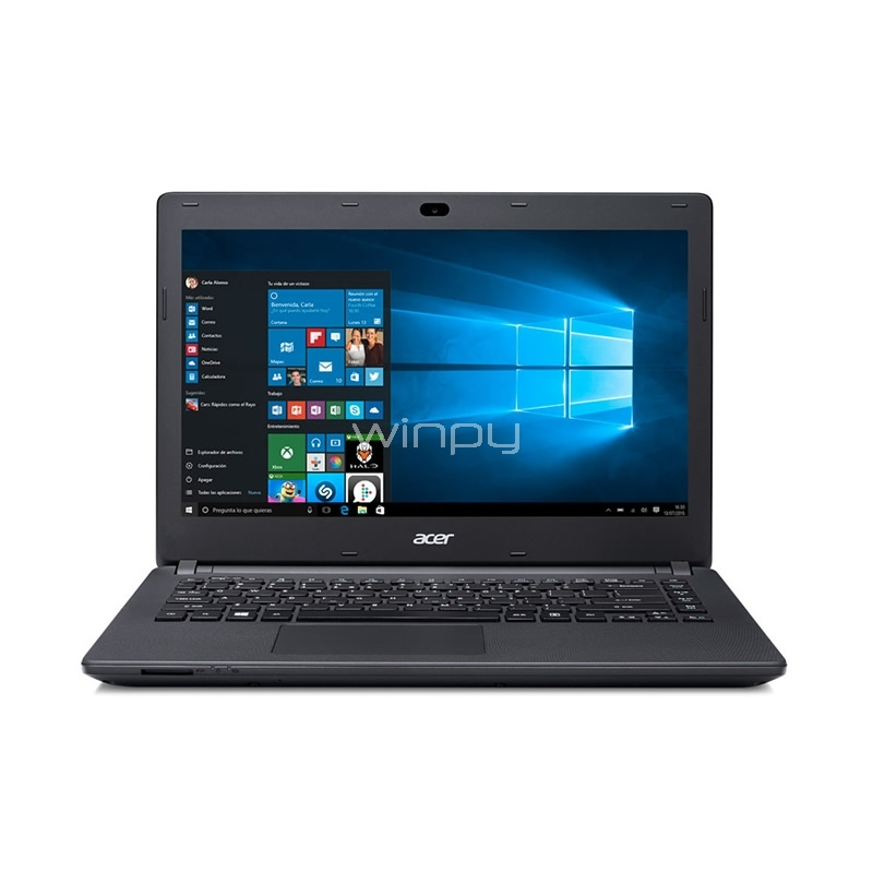 notebook acer aspire es1-433g-348y - reembalado (i3-7100u, geforce 920m, 8gb ddr4, 500gb hdd, pantalla 14, win10)