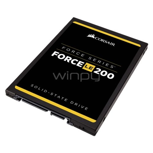 Disco estado sólido Corsair Force LE200 de 120GB (SSD,  SATA, 550MB/500MB)