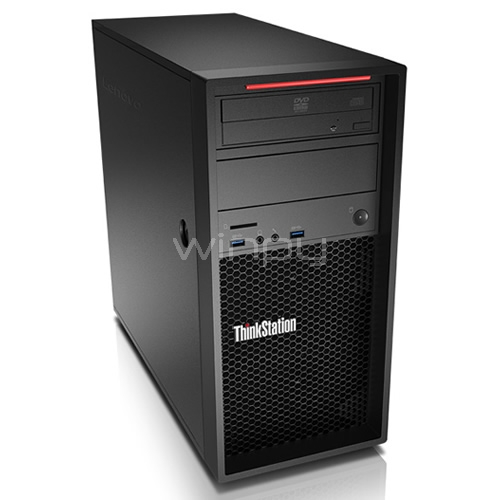 workstation lenovo thinkstation p320 torre (xeon e3-1225v6, 8gb ddr4, 1tb hdd, win10 pro)
