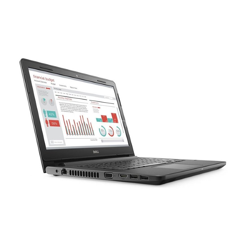 Notebook Dell Vostro 3468 (i5-7200U, 8GB DDR4, 1TB HDD, Pantalla 14, Win10 Pro)