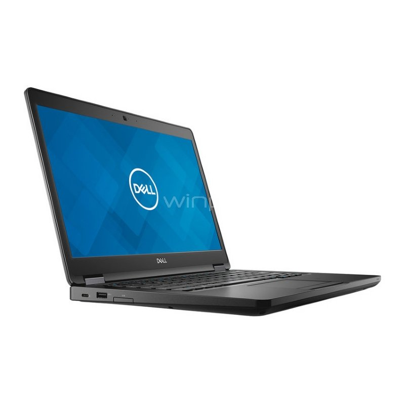 Notebook Empresarial Dell Latitude 5490 (i5-8250U, 8GB DDR4, 256GB SSD, Pantalla 14, Win10 Pro)