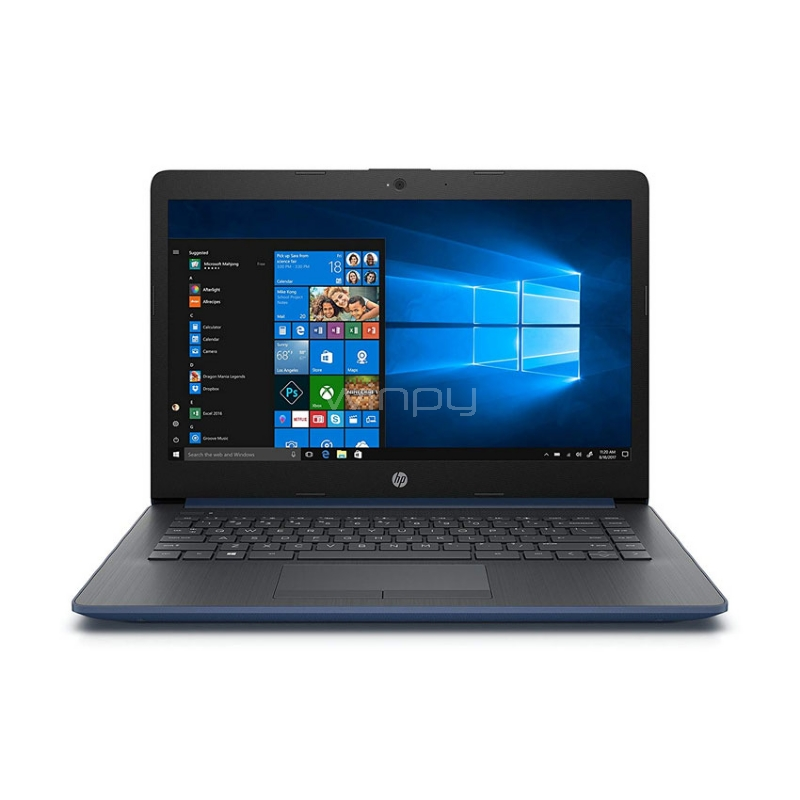"Notebook HP 14-cm0004la (AMD A6-9225, 4GB RAM, 1TB HDD, Pantalla 14"", Win10)"
