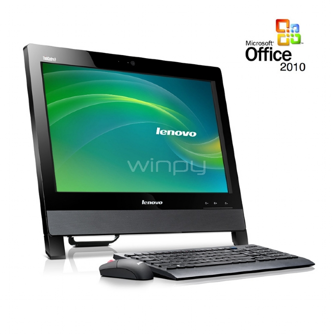 thinkcentre edge 71z (pentium, 8gb, 500gb, win 7 pro + office 2010)