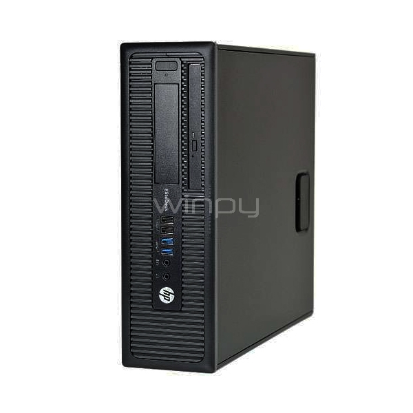 computador hp elitedesk 800 g1 sff (i5-4590, 8gb ddr3, 500gb hdd, win7 pro)